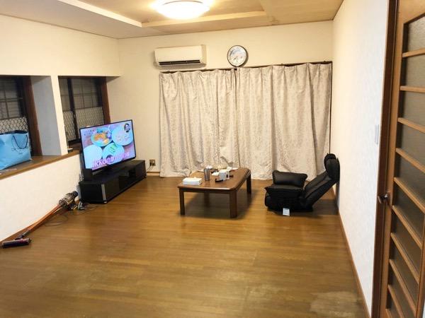 フローリングの洋室