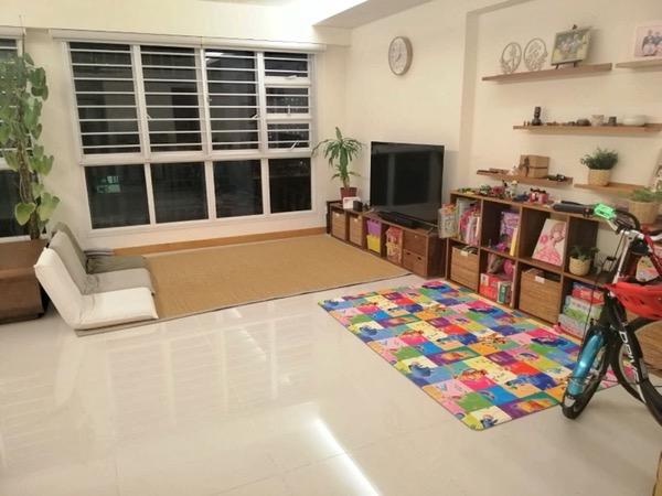 畳を敷く前の部屋