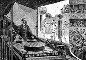 Le théâtre optique de Reynaud, Paris 1892