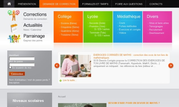 Sos-devoirs-corriges.com