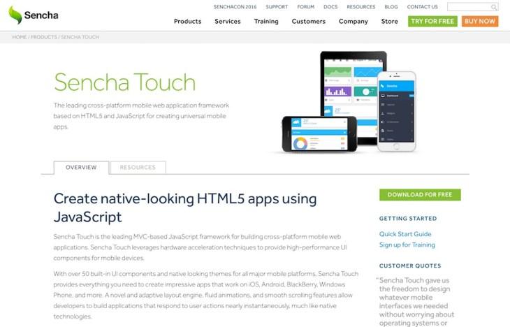 sencha-touch