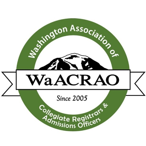 Logo of the Washington Associate for Collegiate Registrars and Admissions Officers