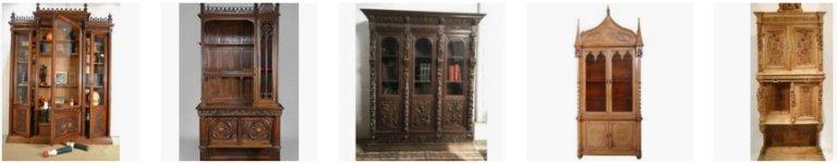 meuble ancien style gothique meubles