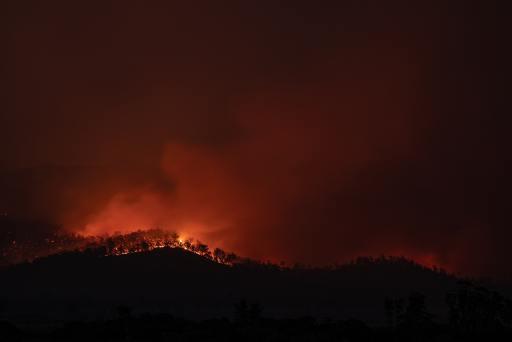 Bosbranden door klimaatverandering.