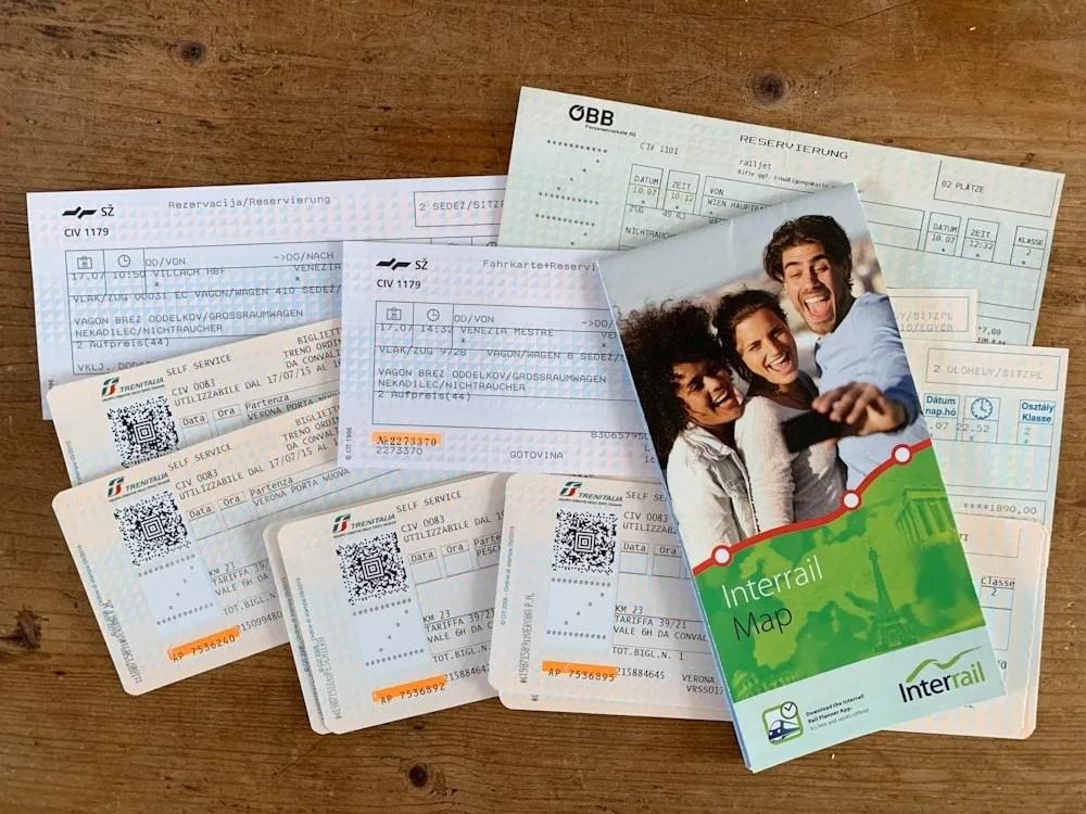interrail trein tickets