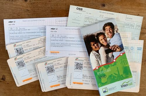 interrail trein tickets