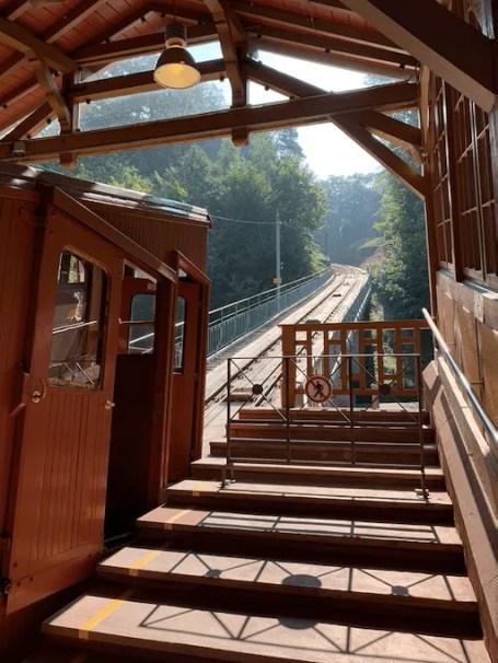 treintje Heidelberg Bergbahn
