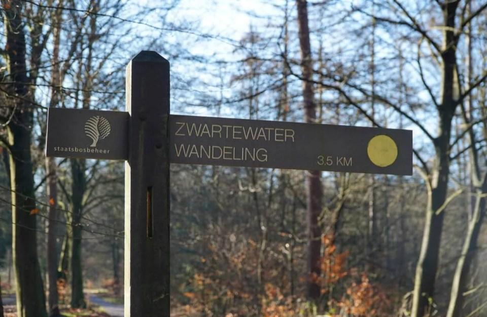 zwartewater wandeling