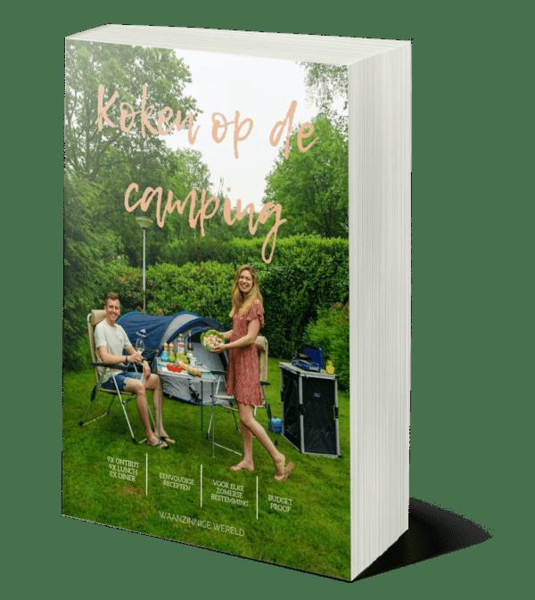 e-book koken op de camping