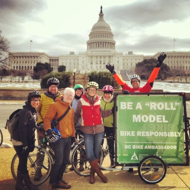 Happy Bike Month from WABA staffers.