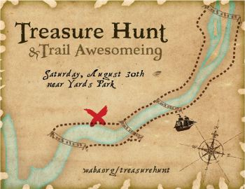 treasure hunt card
