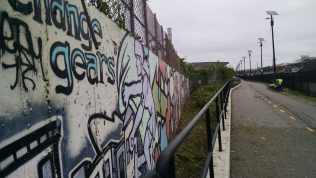 Mural revealed