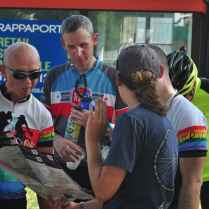 Checking the map (Photo by Andrew Carpenter)