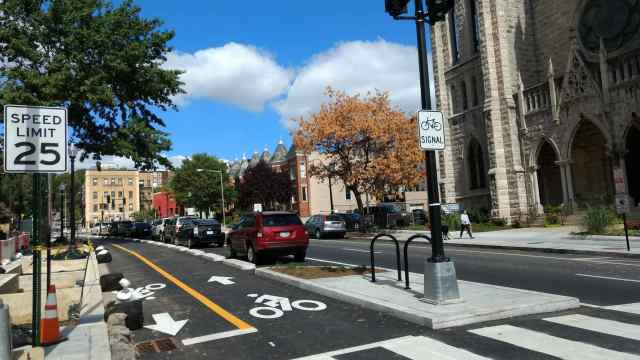 15th St. protected bike lane extension
