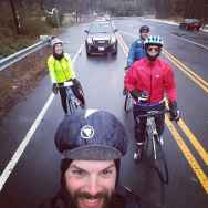 Wet, but smiling 59-milers! (photo: Adam Gould)