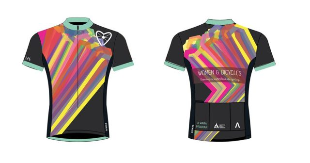 The 2017 Women   Bicycles Limited Edition Jersey is On Sale Now ... d1d951f8e