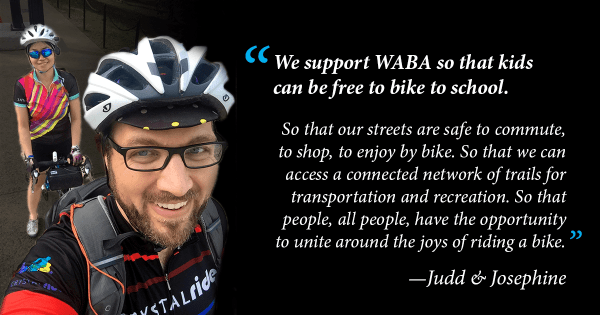 WABA Members Josephine and Judd
