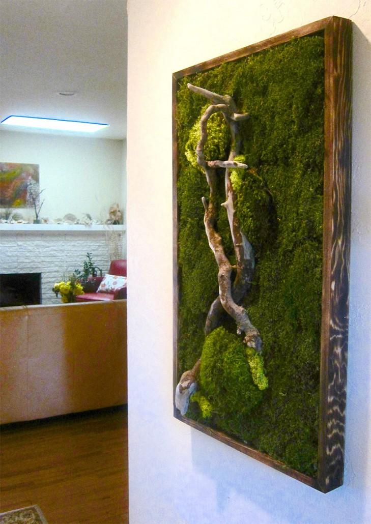 Moss Art Gallery  Wabi moss
