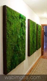 Moss Wall Artwork for Interior Designers - WabiMoss