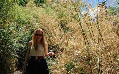 Katie in Denver Botanic Garden