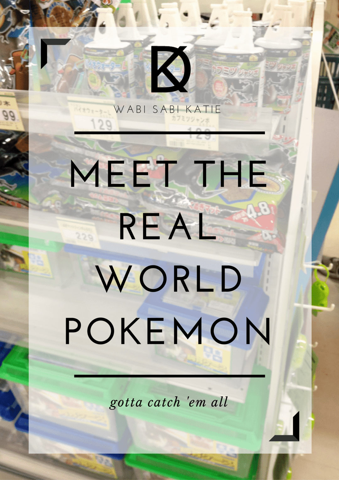 Real World Pokemon in Japan