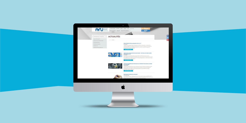AFU, création de site web - Agence Wacan