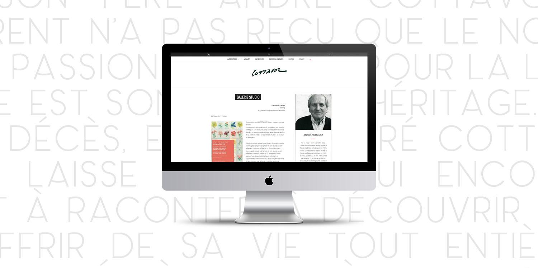 André Cottavoz, création de site web - Agence Wacan