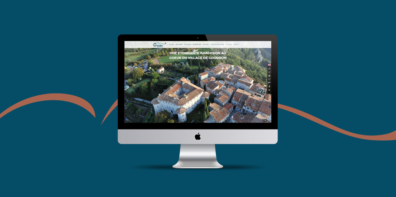Gourdon Tourisme, création de site web - Agence Wacan