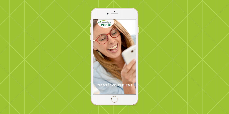 Mutuelle Verte, application mobile - Agence Wacan