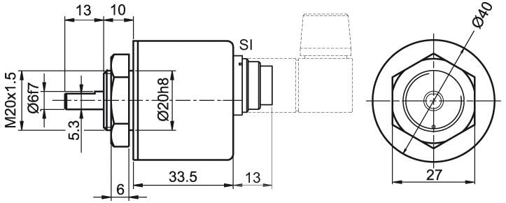 Wachendorff Automation encoder : incremental quadrature