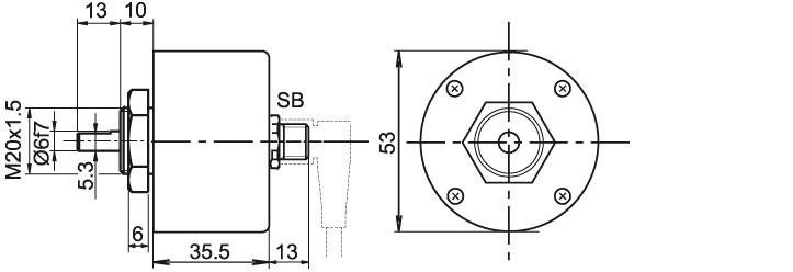 Wachendorff Automation encoders : incremental quadrature
