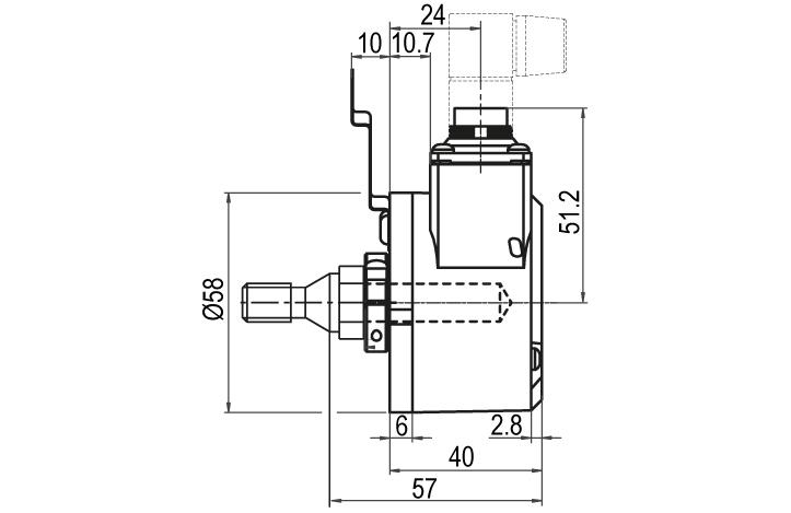 Wachendorff Automation encoders : Installation Kit for