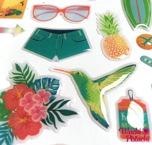 Pegatinas Epoxi Tropical Paradise -Toga