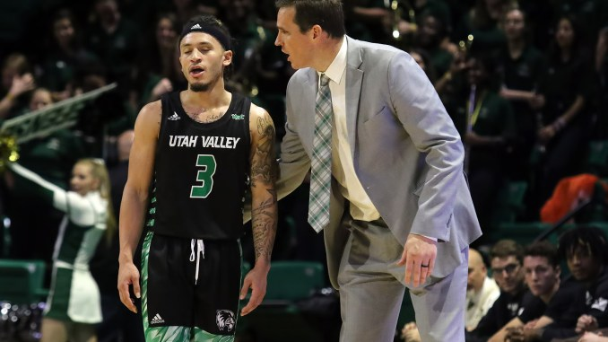 Utah Valley head coach Mark Madsen joined the podcast to talk about his team.