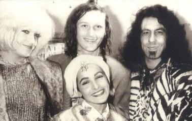 1987 - Jon Bok, Billy Shire, Jane Wiedlin, Summer Caprice (clockwise from top). Jon Bok Opening.