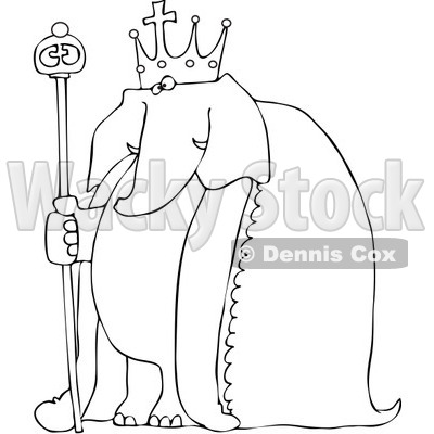 Royalty-Free Vetor Clip Art Illustration of a Coloring
