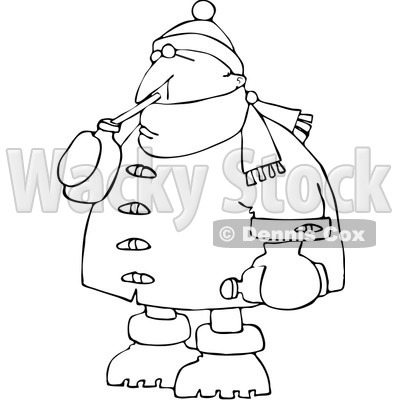 Royalty-Free Vector Clip Art Illustration of a Coloring