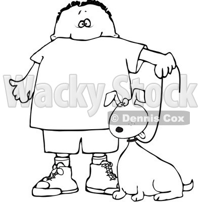 Cartoon Leash Coloring Pages Coloring Pages