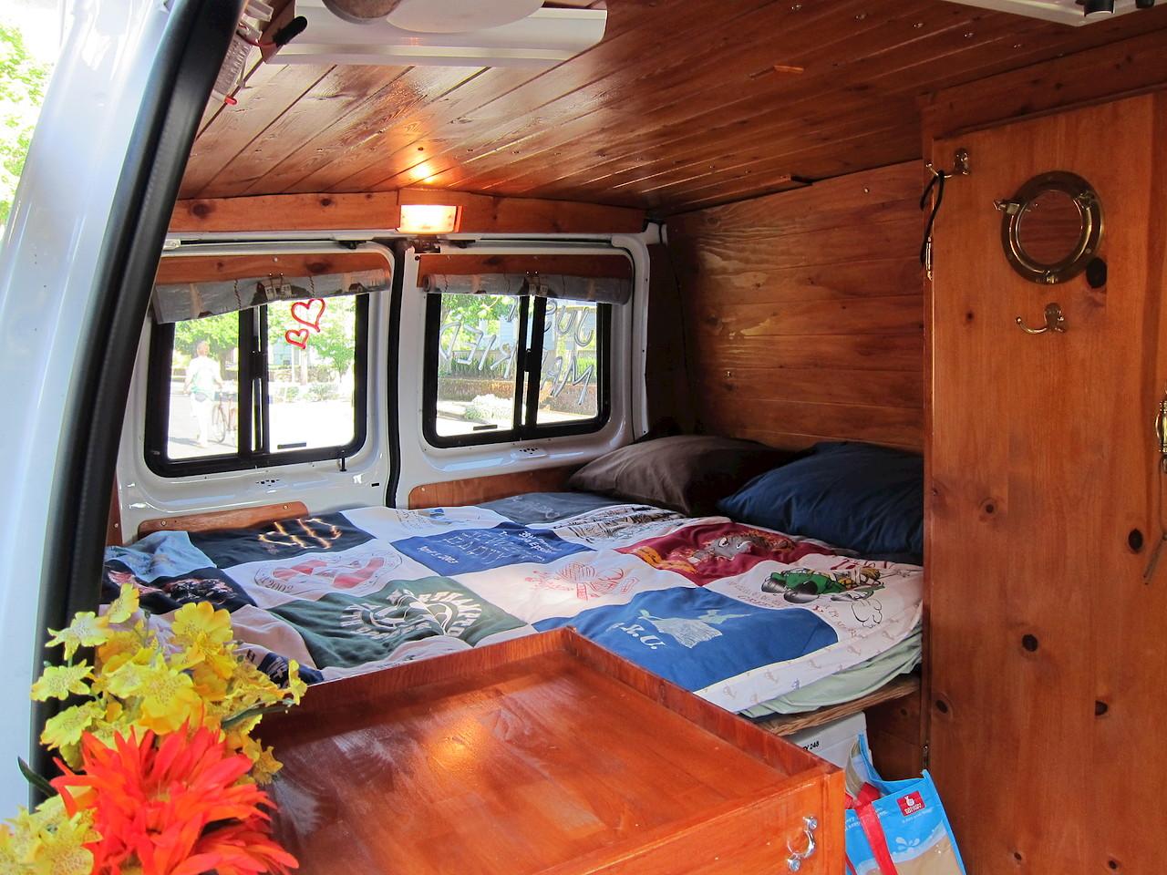 Meet our GTRV Camper Van – Wacky Wanderers