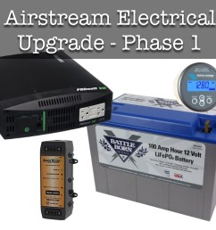 airstream electrical system upgrade phase i wacky wanderers home 12 volt wiring terminals negative blockblack [ 1280 x 1024 Pixel ]