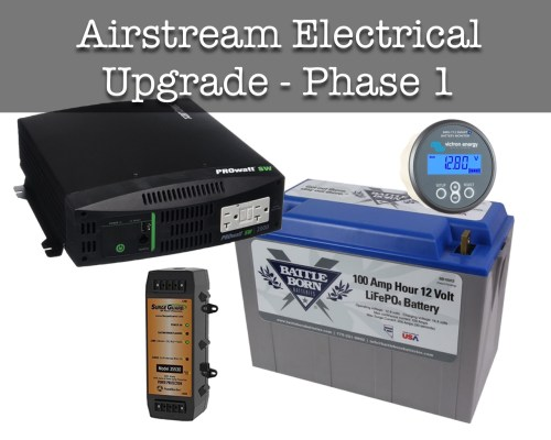 small resolution of airstream electrical system upgrade phase i wacky wanderers home 12 volt wiring terminals negative blockblack
