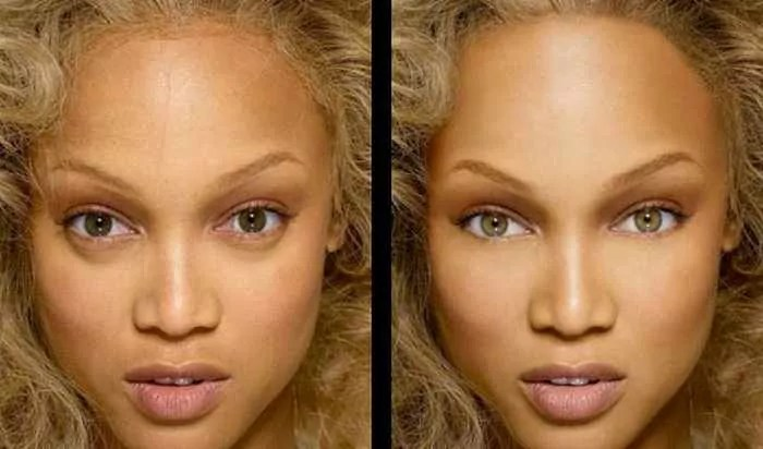 26 Celebrities Before & After Photoshop Will Blow Your Mind -12