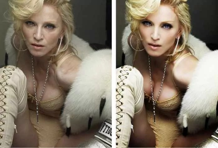 26 Celebrities Before & After Photoshop Will Blow Your Mind -19