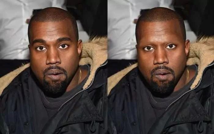18 Celebrities With And Without Eyebrows - Kanye West