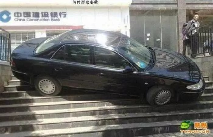 Meanwhile Epic Fail Car Parking In China -03