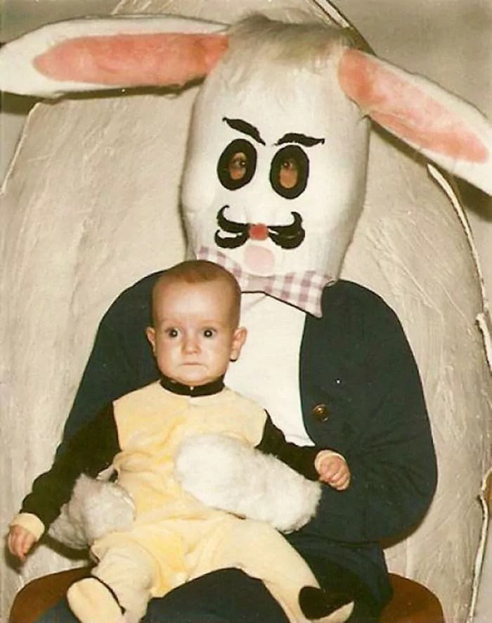 60 Scary Easter Bunny Pictures That Will Give You Nightmares -10