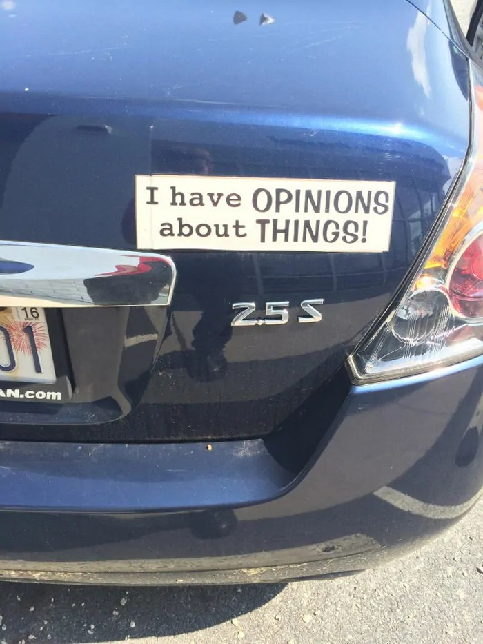 20 Bumper Stickers That Are Actually Damn Funny-14