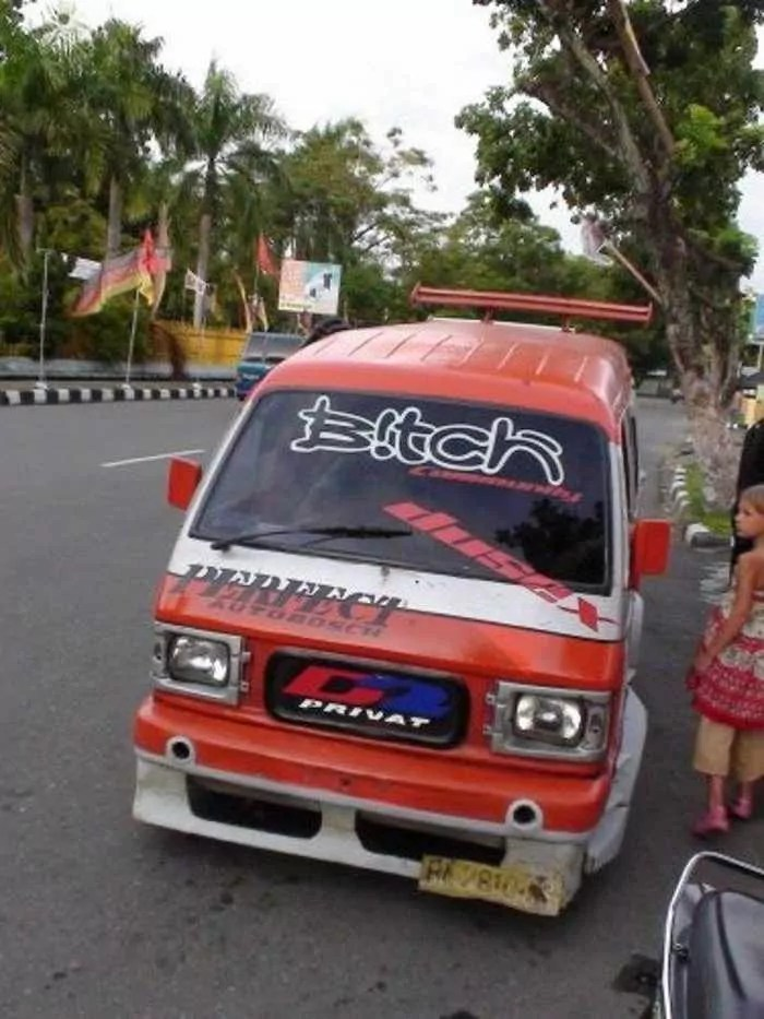 Meanwhile Creative Funny Cars In Indonesia - 16 Pics -02