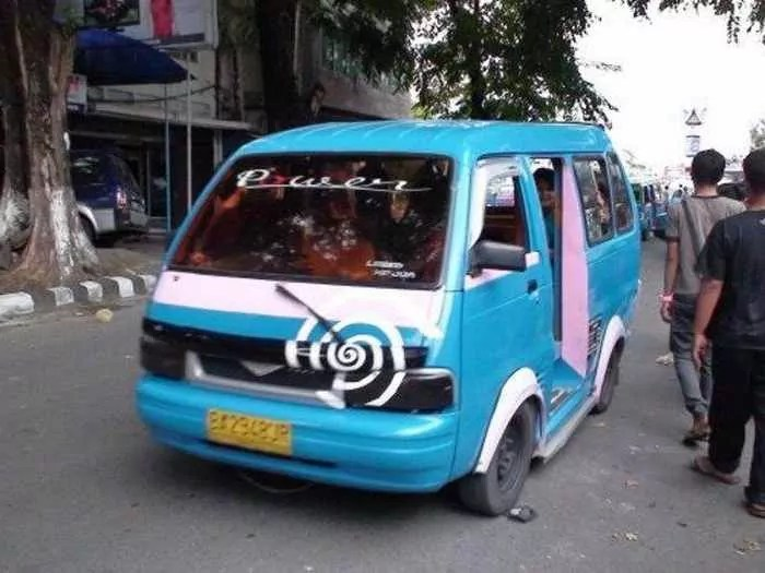 Meanwhile Creative Funny Cars In Indonesia - 16 Pics -04