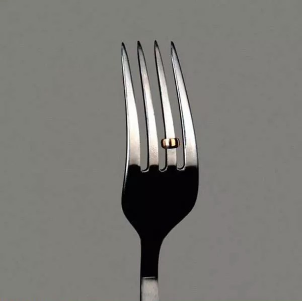 Engaged Fork That You Never Seen Before